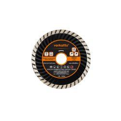 Tarcza diamentowa SUPER TURBO 230 x 2.6 x 7.0 x 22.2mm, verkatto VR-6085 Szczypce