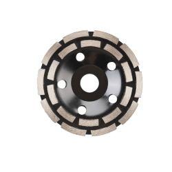 Tarcza diamentowa segmentowa podwójna do szlifowania 125mm, verkatto VR-6092 Tarcze