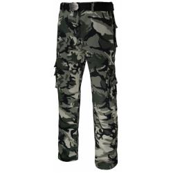Spodnie robocze taktyczne moro TRAMP Tarcze