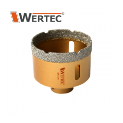 Koronka diamentowa 68x60mm WERTEC WTA68 Tarcze