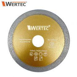 Tarcza do usuwania fugi 115x2,7x22,23mm WERTEC WTDCF1152,7 Pozostałe