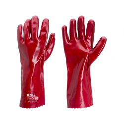 """Rękawice wykonane z PVC, Rozmiar 10"""" - XL przeznaczone do pracy przy oleju Drel, CON-SGA-2001 Przemysł"""