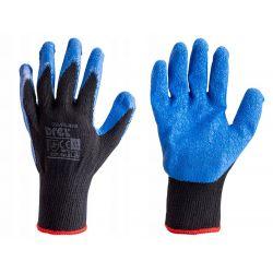 Rękawice pokryte lateksem, poliester i bawełna mix, rozmiar 10-XL, CON-SGL-2210 Pozostałe