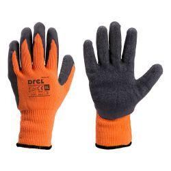 Rękawice pokryte lateksem, ocieplane, rozmiar 10-XL, Drel, CON-SGL-2410 Przemysł
