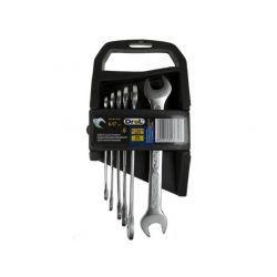DR-IP-6107 Klucze płaskie 6,0-17 mm; 6 szt. Motoryzacja