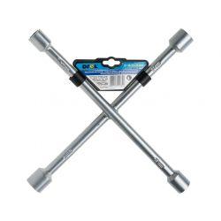 Klucz do kół krzyżakowy 17 x 19 x 21 x 23 mm, CON-CIW-1001 Motoryzacja