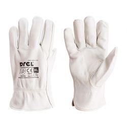 Rękawice robocze, skórzane, rozmiar 10,5-XL, CON-SGR-2105  Tarcze