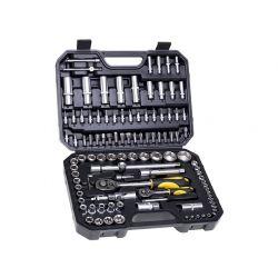 CON-SOC-5108 Zestaw kluczy nasadowych 1/4'', 1/2'' 108 szt.   Klucze