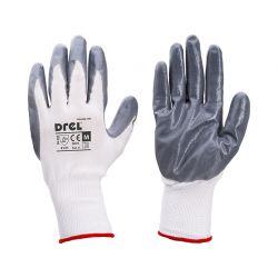 Rękawice pokryte nitrylem, rozmiar 8- M, CON-SGN-2408 Odzież robocza i BHP
