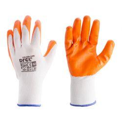 Rękawice pokryte nitrylem, rozmiar 8- M, CON-SGN-2208 Odzież robocza i BHP