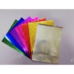 Zeszyt papierów metalizowanych wytłaczanych B5 Zestawy