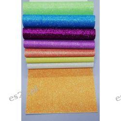 Zeszyt papierów fluorescencyjnych z brokatem B5 Zestawy