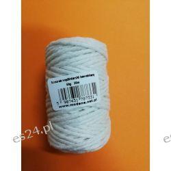 Sznurek wędliniarski bawełniaby biały 30m Pozostałe