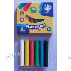 Plastelina 6 kolorowa Astra Plasteliny