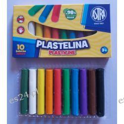 Plastelina 10 kolorowa Astra Zszywacze i rozszywacze
