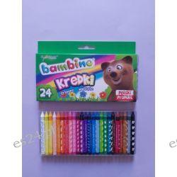Kredki 24 kolorowe Bambino
