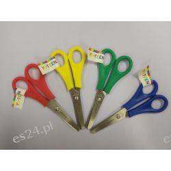 Nożyczki szkolne 13cm Interdruk Akcesoria biurowe