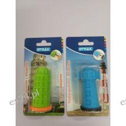 Temperówka pojedyńcza plastikowa z gumką SX34110 Temperówki