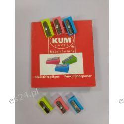 Temperówka pojedyńcza plastikowa KUM Ołówkowe