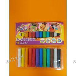 Plastelina 12 kolorowa Koma-Plast Pozostałe
