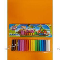 Plastelina 18 kolorowa Koma-Plast