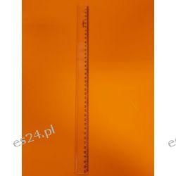 Linijka 40 cm transparentna Tirolpi Dla Dzieci