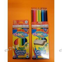 kredki ołówkowe 12 kol Colorino Kids Temperówki