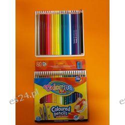 kredki ołówkowe 24 kol Colorino Kids Zeszyty