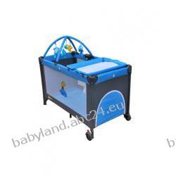Milly Mally łózeczko turystyczne HAPPY DELUX blue