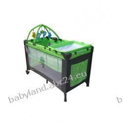 Milly Mally łózeczko turystyczne HAPPY DELUX green