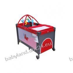 Milly Mally łózeczko turystyczne HAPPY DELUX red