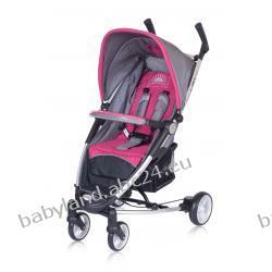 LIRA 4 wózek spacerowy Euro-Cart 2011 szaro-różowa magenta