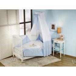 NINO pościel bed set 2+1 baile blue poszewka na kołdrę podusię i prześcieradełko