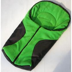 Śpiworek do fotelika sam,nosidełka,gondoli NESTOR ciemna zieleń