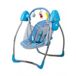 ARTI huśtawka elektryczna BEATY LUXE 3 W1 LIGHT BLUE WINNER
