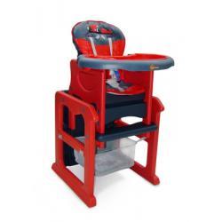 Krzesełko do karmienia MAX MILLY MALLY rozkładane na stoliczek do zabawy formula