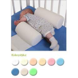 Bezpieczne wałeczki dla niemowląt tyimy kol.niebieski