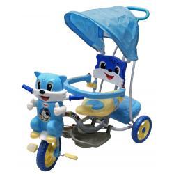 ARTI wielofunkcyjny rowerek KOTEK niebieski