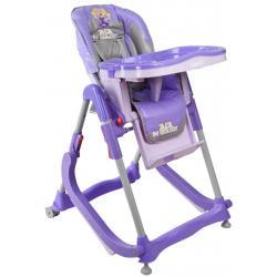 Krzesełko dla dzieci ARTI  modern FIOLETOWE