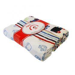 BOBOBABY pieluszki tetrowe w siateczce drukowane 3szt