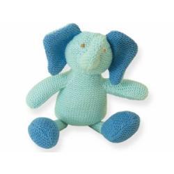 Kolorino sweterkowe zabawki słonik z grzechotką