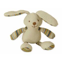 Kolorino sweterkowe zabawki króliczek z grzechotką