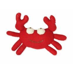 Kolorino sweterkowe zabawki krab z grzechotką