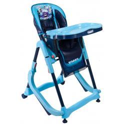 Krzesełko dla dzieci ARTI  modern niebieskie 2w1 kołyska