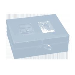 Pudełko wspomnień niebieskie