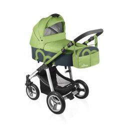 BABY DESIGN Lekki, kompaktowy wózek uniwersalny LUPO gondola i spacerówka fotelik DUMBO 04