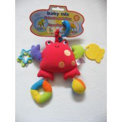 Zabawka podróżna baby mix krab