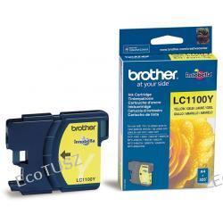 Kartridż z atramentem żółtym Brother LC1100Y