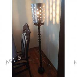 Lampa podlogowa industrialna handmade Pozostałe