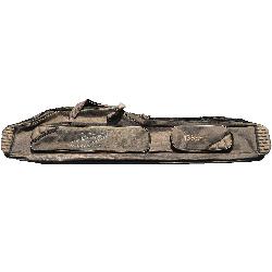 POKROWIEC WĘDKARSKI 3 KOMOROWY 135 cm USZTYWNIANY Z wolnym biegiem
